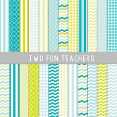 This is a great set of digital paper that come in 12x12 size, 300 ppi, perfect for school projects, scrapbooking, and your TPT products. No credit or link required! I use digital paper to make teacher planners! (I'm sure I'm helping competition, but I'm all about sharing great info!) 14 Digital Papers included>Just open a Powerpoint document. >Change your page size to 8.5x11. >Right click, format background.