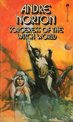 scificovers: Never judge a book by its cover but this looks awful lot like fantasy and not science fiction or science fantasy. Ace Books of the Witch World by Andre Norton Cover art by Jeff Jones. Pulp Fiction, Science Fiction, Fiction Novels, Ace Books, Sci Fi Books, Fantasy Book Covers, Fantasy Books, Fantasy Art, Cover Books
