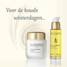 Heeft u ook last van een droge en trekkerige huid? De nutritive lijn van Sothys zorgt dat uw huid weer aangenaam aanvoelt. Zacht en goed gehydrateerd. In deze koude dagen met de verwarming lekker aan wordt uw huid een stuk droger als normaal en voelt hij niet fijn aan. Bel voor gratis advies naar 076-5223838 of mail naar info@beautyvit.nl Creme, Shampoo, Perfume Bottles, Personal Care, Beauty, Beleza, Self Care, Personal Hygiene, Perfume Bottle