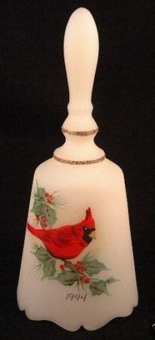 art glass bells by america s favorite glass company fenton