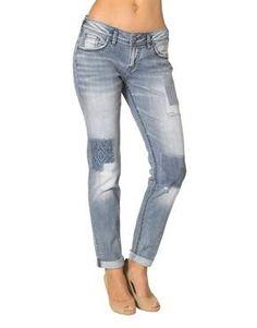 "Silver Jeans ""Boyfriend"" fit! http://jeanmachine.com/products/newarrivals"