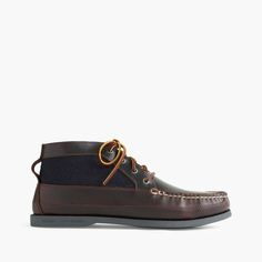 J.Crew Gift Guide: men's Sperry® for J.Crew leather chukka boots.