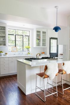 A Thrifty New England Kitchen, by Way of LA; Designed by Barbara Bestor and photographed by @Jessica Comingore