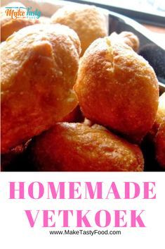 Homemade Vetkoek, are a favorite south african recipe that is versatile and made with different fillings. Simple jam or curry mince filled vetkoeks. Oven Chicken Recipes, Dutch Oven Recipes, Cooking Recipes, Bread Recipes, Burger Recipes, South African Dishes, South African Recipes, Africa Recipes, Koeksister Recipe South Africa