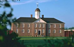 Historic Eastern State Hospital in Williamsburg, Virginia - reconstructed museum (Colonial Williamsburg Foundation).
