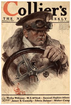 U.S. Collier's, The National Weekly, January 5, 1918 // J.C. Leyendecker