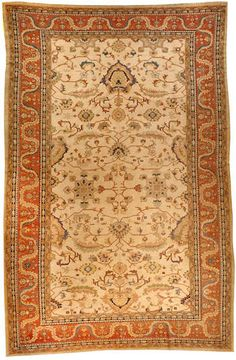 Turkish contemporary  carpet  Turkey  size approximately 13ft. x 19ft. 10in.