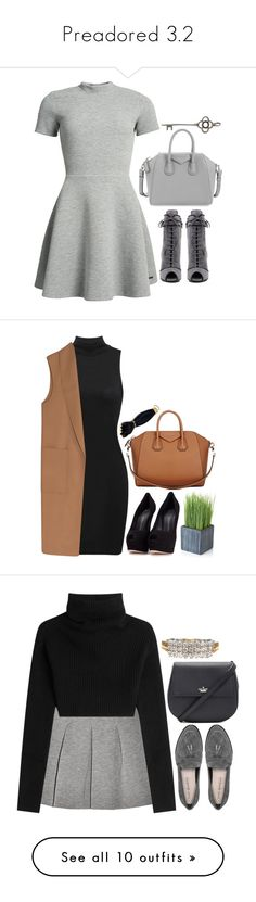 """Preadored 3.2"" by emilypondng ❤ liked on Polyvore featuring PreAdored, Superdry, Prada, Givenchy, Alexander Wang, Giuseppe Zanotti, Crate and Barrel, Via Spiga, T By Alexander Wang and Valentino"