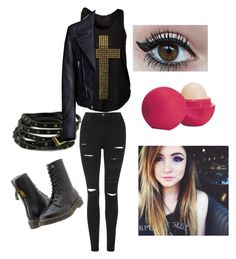 """""""A Day with Chrissy Costanza"""" by mysteriouscatx ❤ liked on Polyvore featuring moda, Topshop, Y's by Yohji Yamamoto, Chicnova Fashion, Balenciaga ve Eos"""