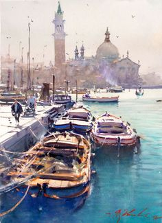 Judge for 2015 Sorrento Art Show – Joseph Zbukvic, Venice