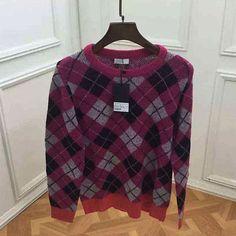 SLP HoundCHECK Mixed Round Neck Sweater