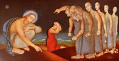 Symbolic Art, Madonna And Child, Sacred Art, Bible Art, Christian Art, Religious Art, Character Art, Illustration Art, Gallery