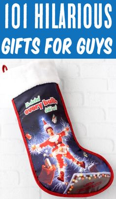 Christmas Gifts for Guys! Men gift ideas can be a challenge, but I've rounded up a HUGE list of guy-approved presents he'll LOVE! Go check some more gifts off your list! Teen Guy Gifts, Cool Gifts, Best Gifts, Crochet Beard, Shark Socks, Stocking Stuffers For Men, Best Christmas Gifts, Christmas Time, Holiday