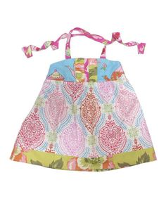 Another great find on #zulily! Pink Damask Halter Dress - Infant, Toddler & Girls #zulilyfinds