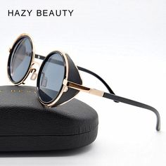 Buy steampunk watches, steampunk sun glasses, gothic clothes and retro accessories Discount Sunglasses, Retro Sunglasses, Round Sunglasses, Sunglasses Women, Steampunk Goggles, Steampunk Sunglasses, Glasses Style, Fashion Eye Glasses, Glamour