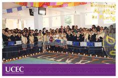 CEC celebra el Día de Muertos elaborando un magnifico altar dedicado a homenajear a un máximo representante de la lucha libre ¨EL SANTO¨