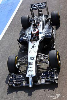 Stoffel Vandoorne, McLaren MP4-29 Test and Reserve Driver