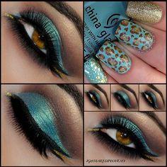 Turquoise beauty @ makeuplovexo