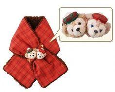 Duffy Sherry MAE Muffler XMAS2012 Tokyo Disney SEA Limited 01139 | eBay