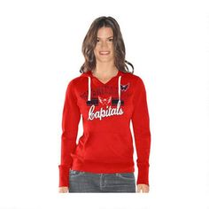 You might have a favorite Capitals player, but your devotion for the team as a whole is what labels you as the ultimate fan. Make sure your Washington style matches the passion you have for your favorite team with this Rivalry hoodie. With an embroidered logo, and vintage distressed logo, this team-colored hoodie displays your love for Washington hockey and your awesome fashion sense all in one cute package. It's teamwork that keeps your players strong and you'll be part of the Capitals fans…