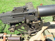 Browning .30 Caliber M1917 Machine Gun. Browning, World War I, Usmc, Cannon, Guns, Google, Weapons Guns, World War One, Revolvers