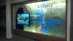Interactive Video Donor Wall