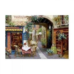 inShop webáruház > Educa Viktor Shvaiko, Trattoria tre marchetti puzzle, 1000 darabos