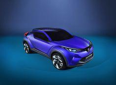 Toyota laat meer van C-HR Concept zien