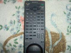 Sony VTR TV Remote Control RMT V130 | eBay
