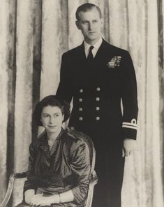 Elizabeth Queen Of England, Young Queen Elizabeth, Elizabeth Philip, Princess Elizabeth, Young Prince Philip, Prinz Philip, Defender Of The Faith, English Monarchs, British Royal Families