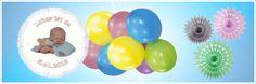 Deko und Geschenke für eine festliche Babyparty 1 Year Birthday, Baby Birthday, Gifts