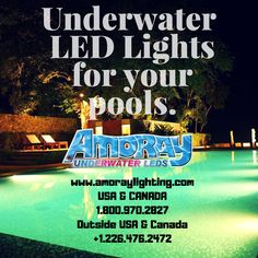 These high-quality Nicheless LED Underwater Lights are Corrosion free,Waterproof & to be used for Pools,Ponds,Lakes,Fountains Inground Pool Lights, Underwater Led Lights, Ponds, Lakes, Decorating, Free, Decor, Decoration, Decorations