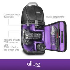 Altura Photo Camera Sling Backpack Bag  http://www.ebay.com/itm/401084433847