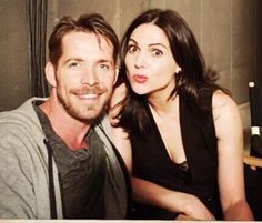 Awesome Lana and Sean (Regina and Robin) being cute!