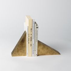 Apparatus' Bold New Line of Accessories - modular Candle Blocks / bookends Decorative Objects, Decorative Accessories, Home Accessories, Interior Styling, Interior Decorating, Interior Design, Luxury Interior, Diy Furniture, Furniture Design