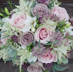 Beautiful brides bouquet from wildearth
