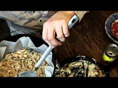 Dutch Oven Cooking:  Enchiladas