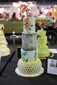 The Wedding Expo Cake Challenge March 2017 with Huletts SA entrant to the professional category Sweet 'n Sassy. Photography by Nic Huisman Photography. Cake Competition, Sassy, Wedding Cakes, Groom, Challenge, March, Table Decorations, Bride, Sweet