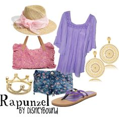 Rapunzel, created by lalakay on Polyvore