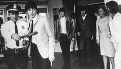 12th September 1964. The Beatles found themselves diverted to Hanscom Field in Bedford, MA. On arriving police ordered the be driven 15 miles to Hotel Madison.