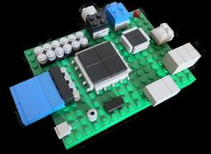 Raspberry Pi by ProjectGregory, via Flickr - Nice job!