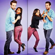 Tom Mison &  Nicole Beharie / Sleepy Hollow
