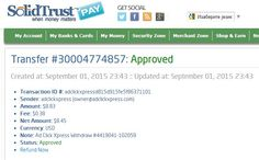 AdClikXpress Withdrawal Proof no 6 ! I am getting paid daily at ACX and here is proof of my latest withdrawal. This is not a scam and I love making   money online with Ad Click Xpress. Here is my Withdrawal Proof from AdClickXpress. I get paid daily and I can withdraw daily.  http://www.adclickxpress.com/?r=sanja94&p=mx