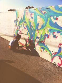 Make graffiti art. Urban Street Art, Urban Art, Graffiti Art, Artsy Fartsy, Les Oeuvres, Art Drawings, Art Photography, Jimmy Choo, Sketches