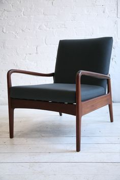 Anonymous; Afromosia Lounge Chair by Greaves and Thomas, 1960s.