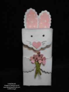 Bunny Treat Box Linda Bauwin - CARD-iologist Helping you create cards from the heart.