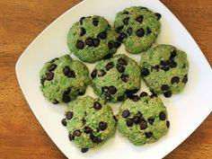 mint chocolate chip oatmeal cookies