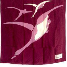 Pierde Cardin scarf silk