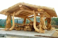 Although historic inside strategy, the actual pergola has become suffering from somewhat of a Rustic Log Furniture, Pergola, Gazebos, Backyard Pavilion, Log Cabin Homes, Wood Creations, Woodworking Projects Plans, Woodworking Techniques, Woodworking Furniture