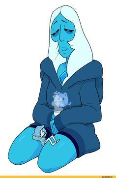 Steven universe,фэндомы,discount-supervillain,SU спойлер,Blue Pearl,SU Персонажи,Blue Diamond,SU art